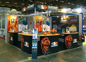 Outset @ INTERMAT PARIS 2009